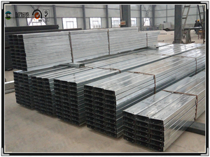 C section steel product